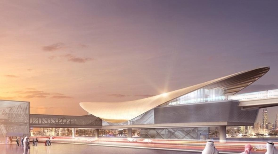 Construction begins for Dubai Expo 2020 metro station