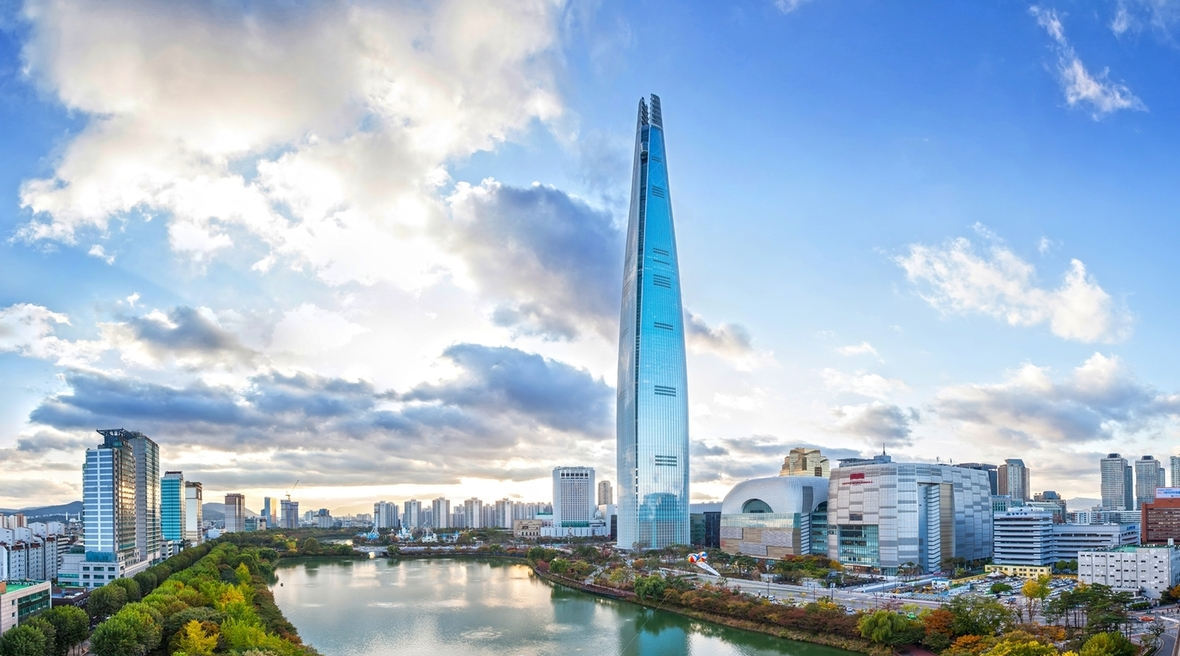 World's fifth tallest skyscraper completed in Seoul by KPF