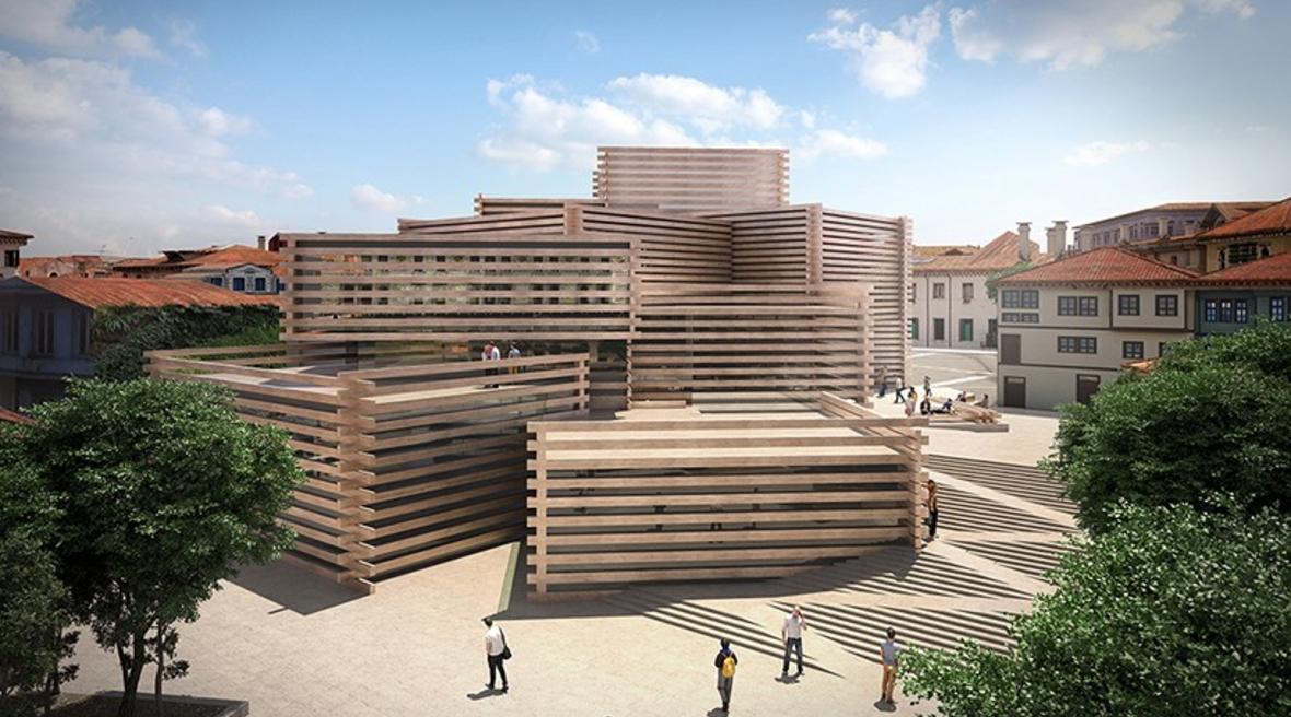 Kengo Kuma designs modern art museum in Turkey inspired by Ottoman houses