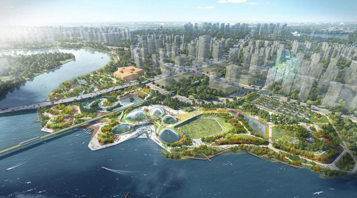 Eco-park will symbolise China-Singapore friendship