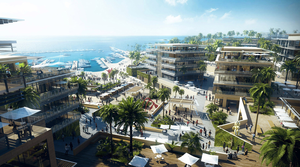 10 Design reveals masterplan for seafront development in Egypt