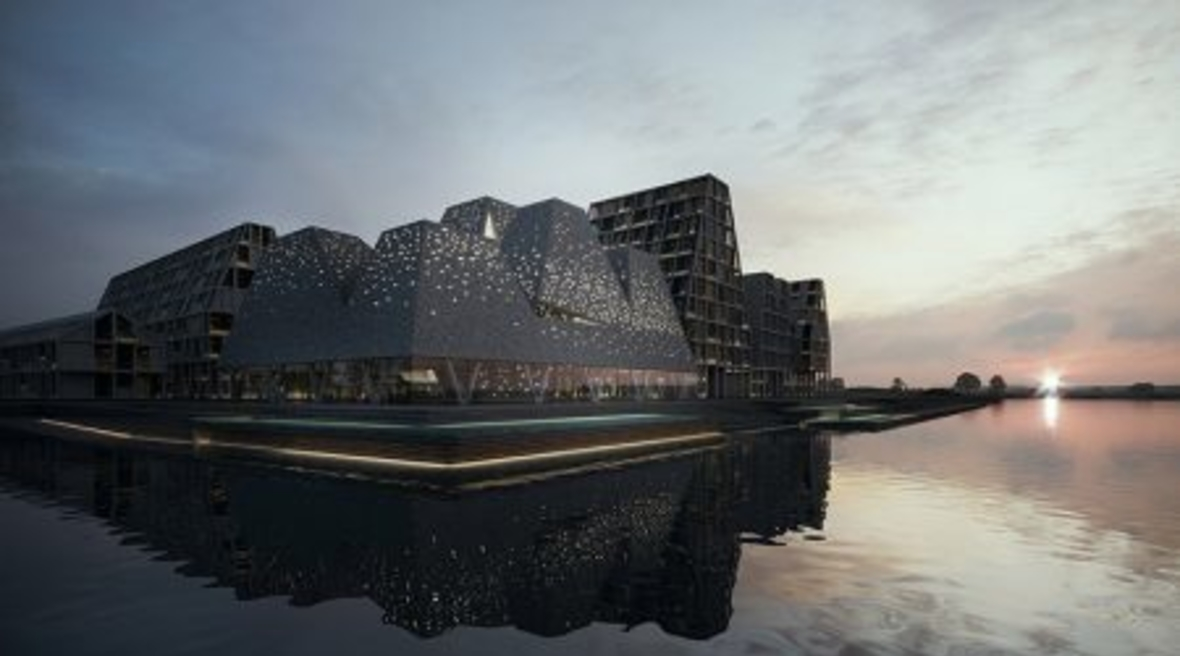 Kengo Kuma & Associates to design Copenhagen's new Waterfront Culture Centre
