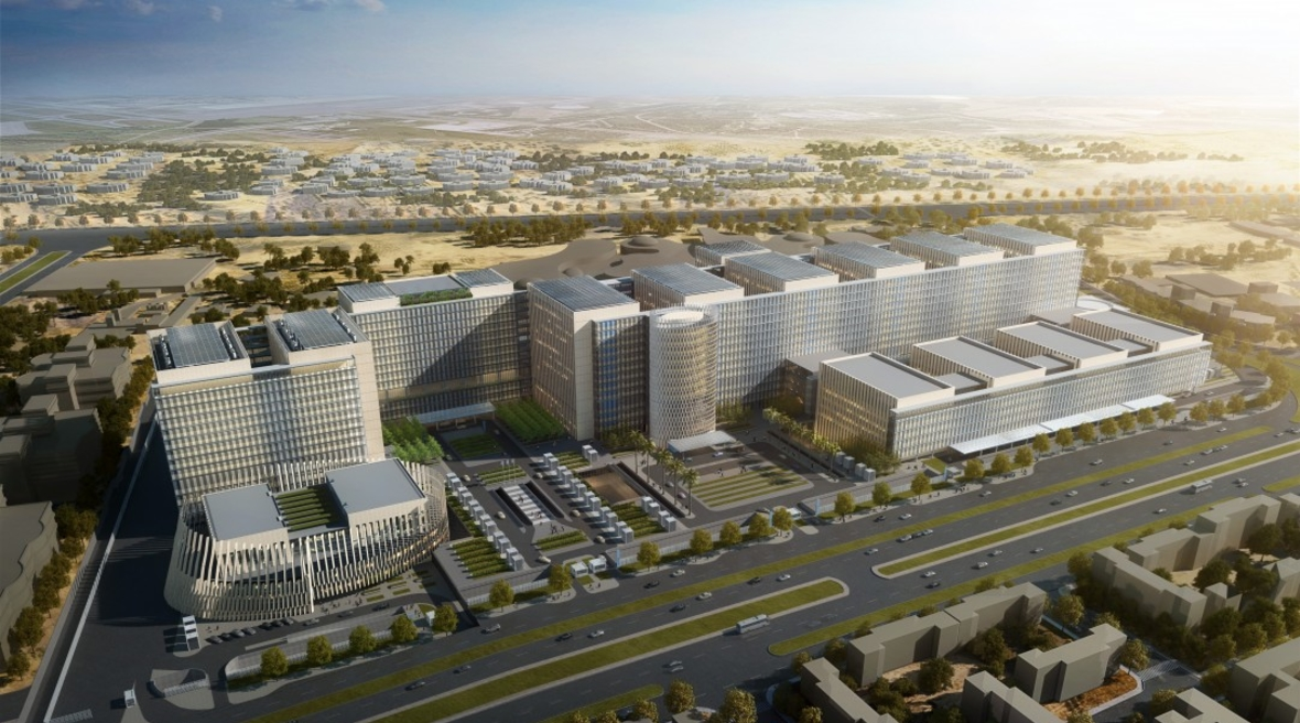 Egypt's cancer centre by SOM reinvents the large medical campus