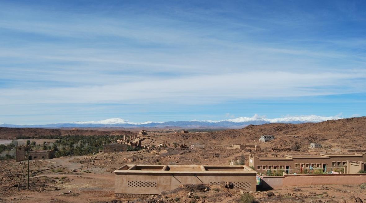BC Architects designs bioclimatic preschool in Morocco