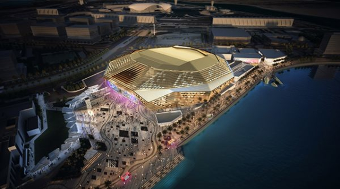 HOK-designed Yas Bay Arena wins Sustainable Building Design of the Year at MENA Green Building Awards 2018