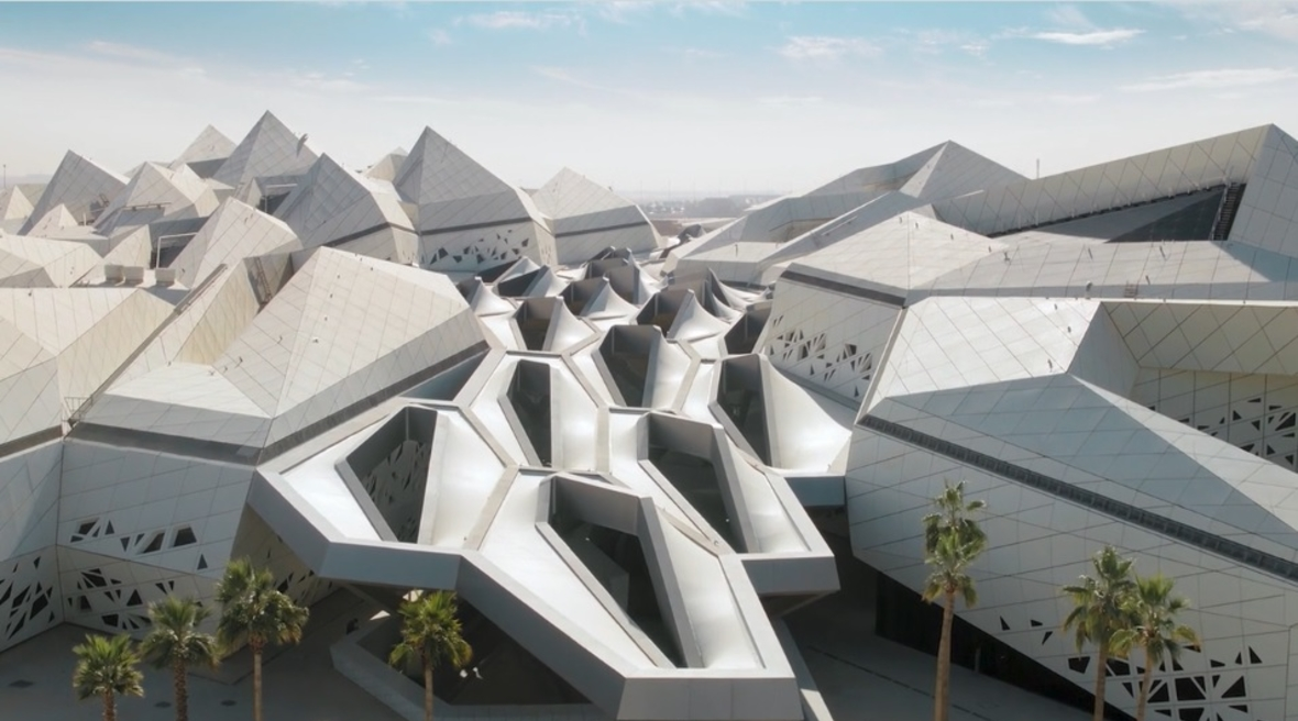 Zaha Hadid Architects releases video highlighting KAPSARC's architectural features