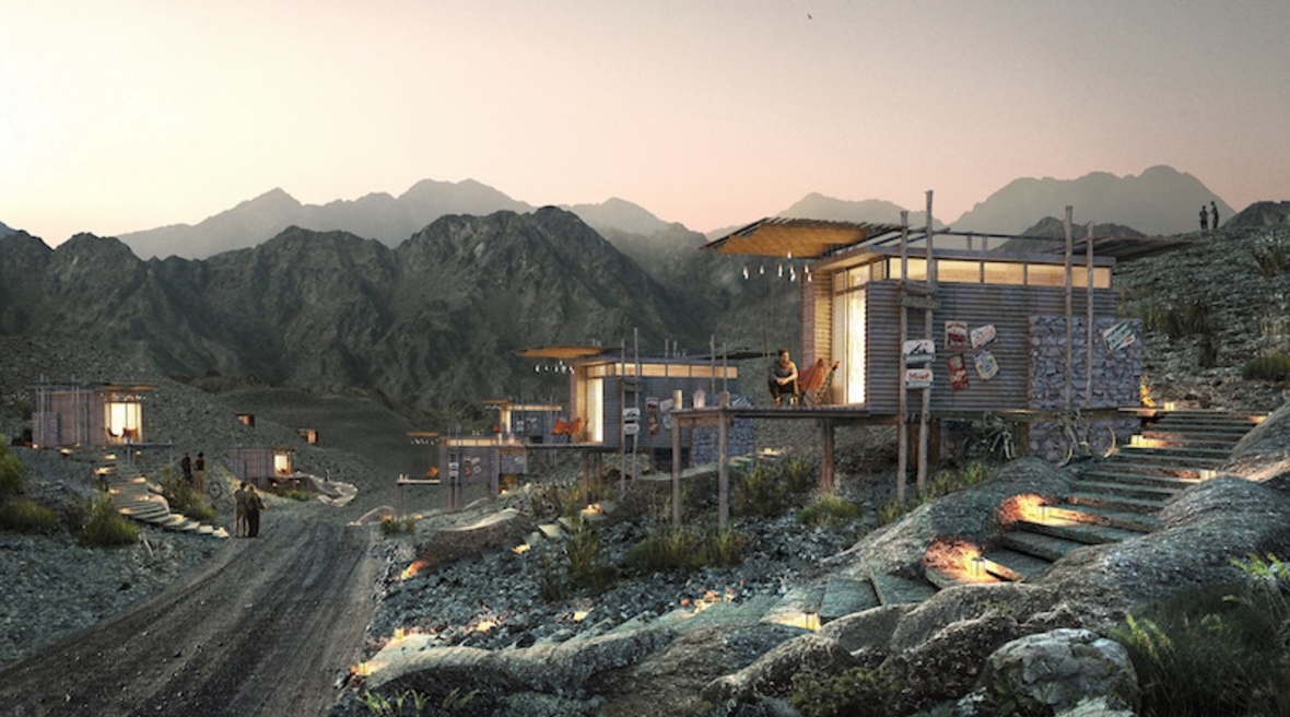 Mountain lodge and Hollywood-style sign planned for Hatta