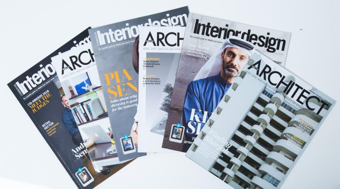 interior design magazine middle east