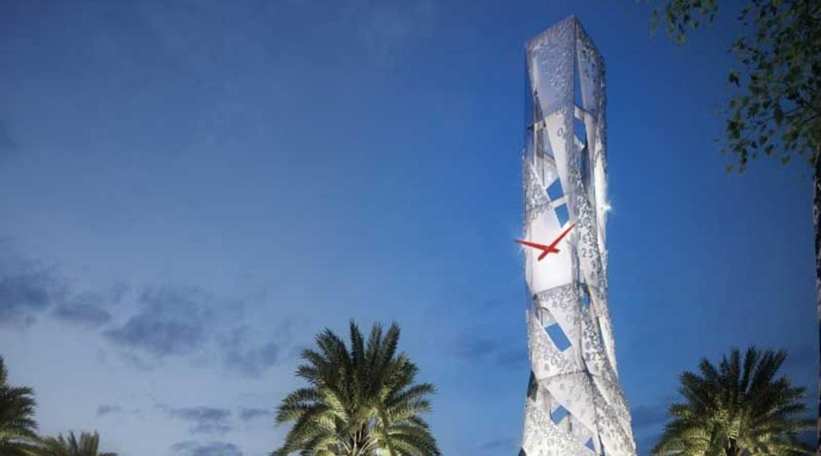 Strange clock tower proposed as 'symbol of Dubai'