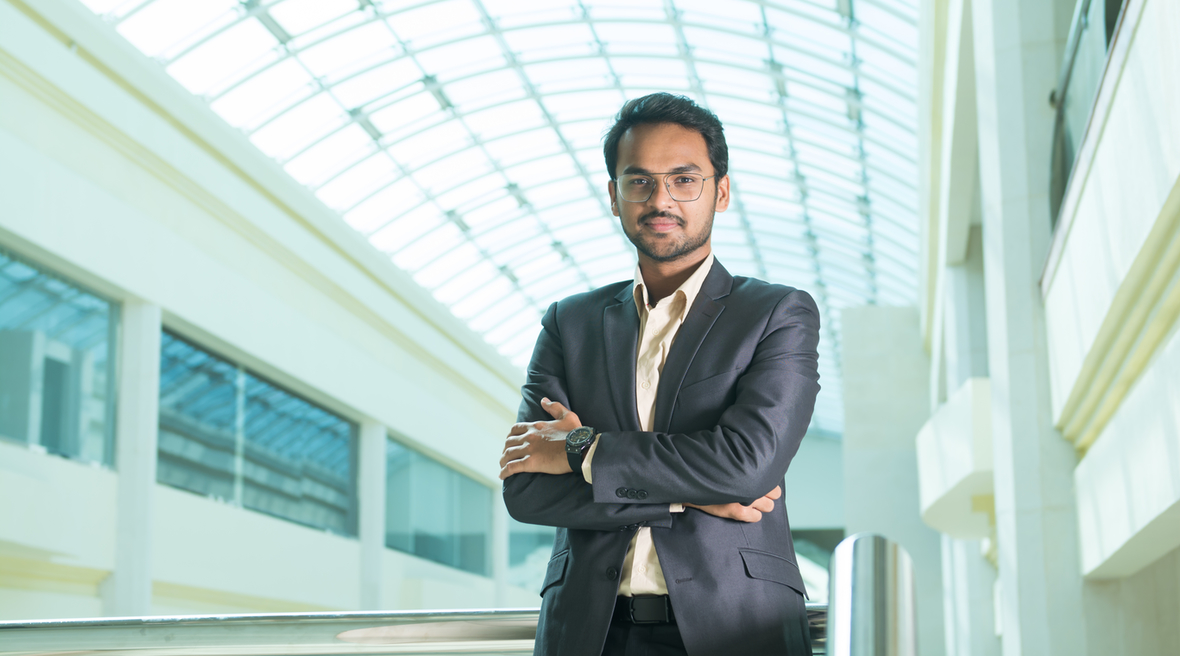 Meet GAJ's architect Piyush Prajapati, once awarded for the best architectural thesis in India