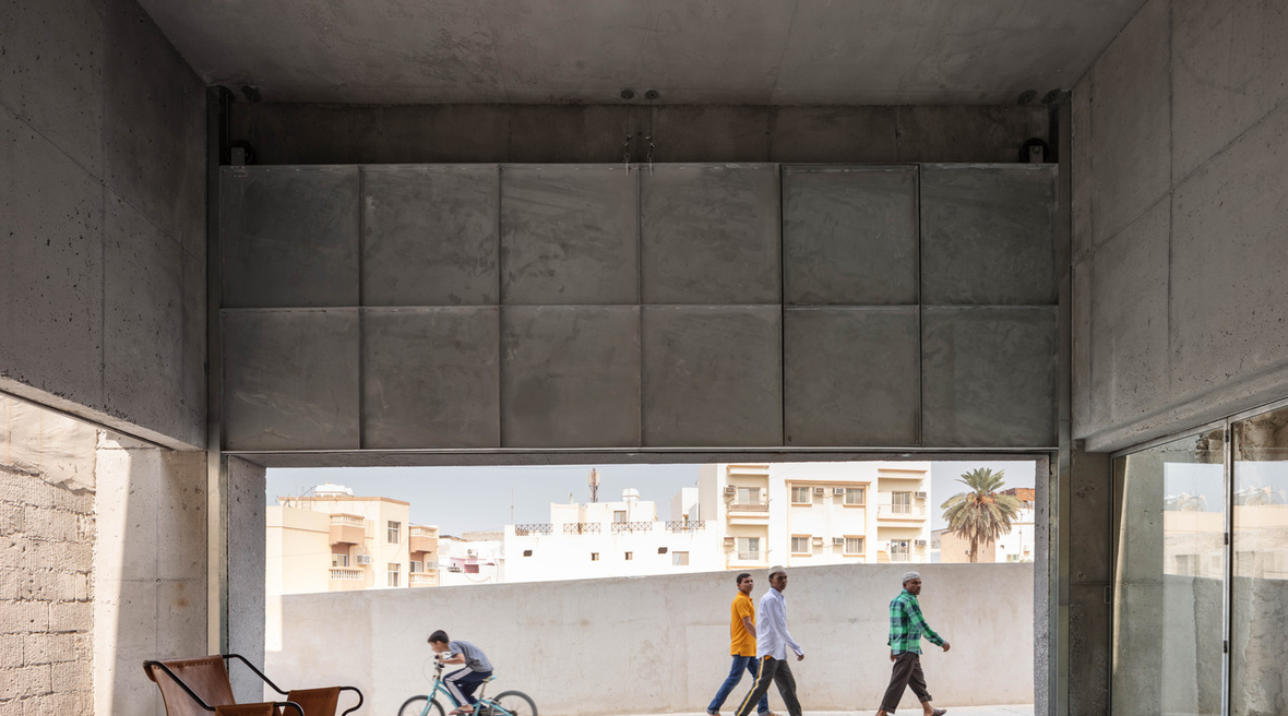 House for Architectural Heritage in Bahrain pays homage to the work of John Yarwood
