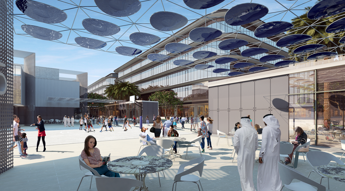 P&T Architects and Engineers reveals concept design for new multi-billion AED development in Dubai