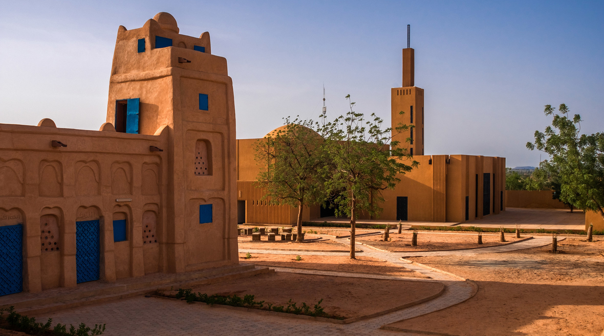 Atelier Masomi converts deteriorating mosque in Niger into a community library
