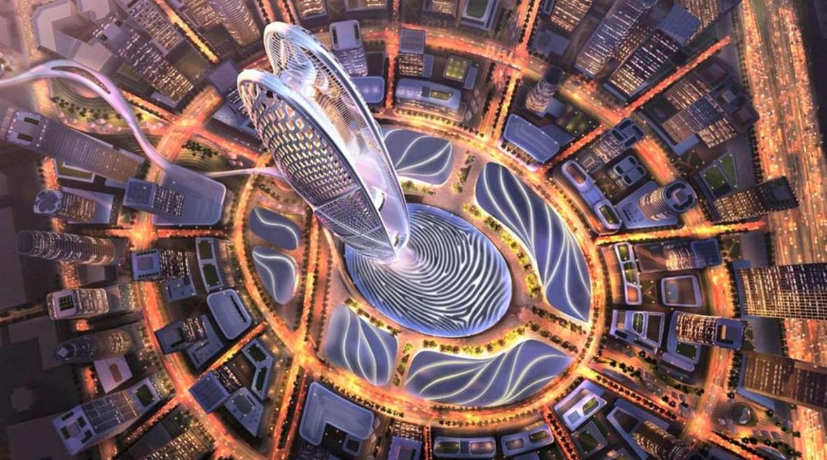 550m oval-shaped Burj Jumeirah tower unveiled for Dubai
