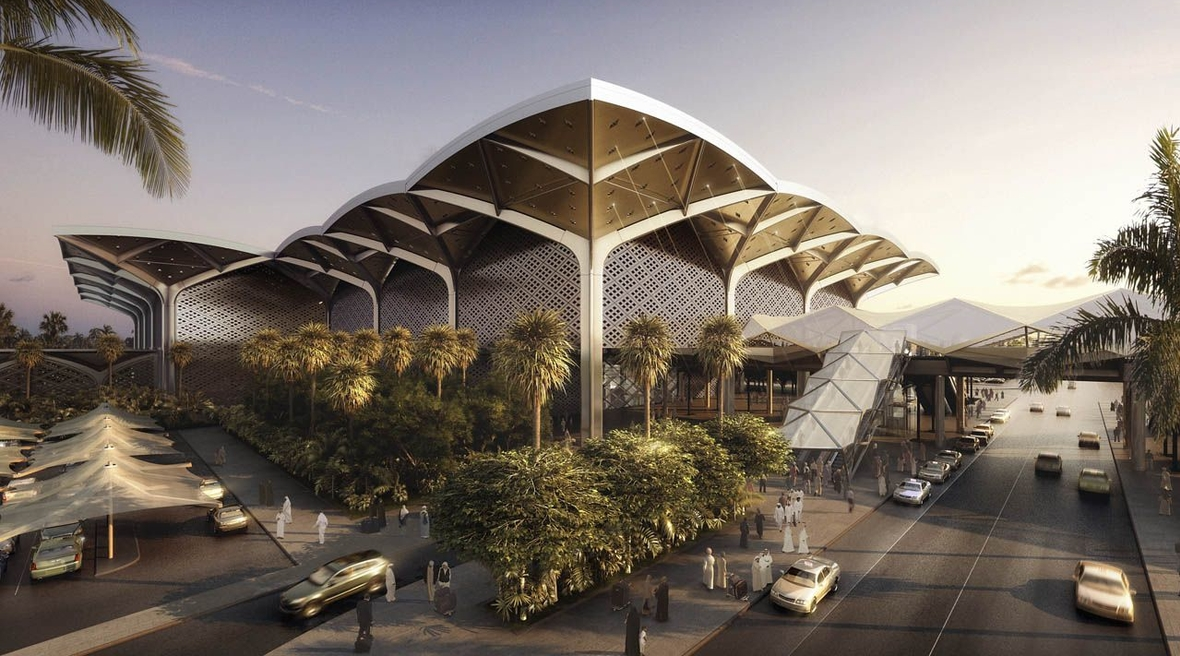Foster + Partner's completed, proposed, and under-construction projects in the Middle East and North Africa