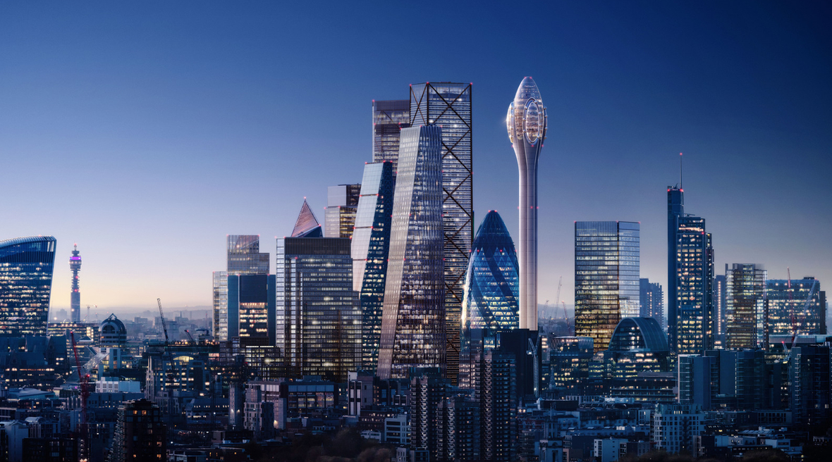 Lebanese banker wins approval to build Foster + Partners-designed Tulip tower in London