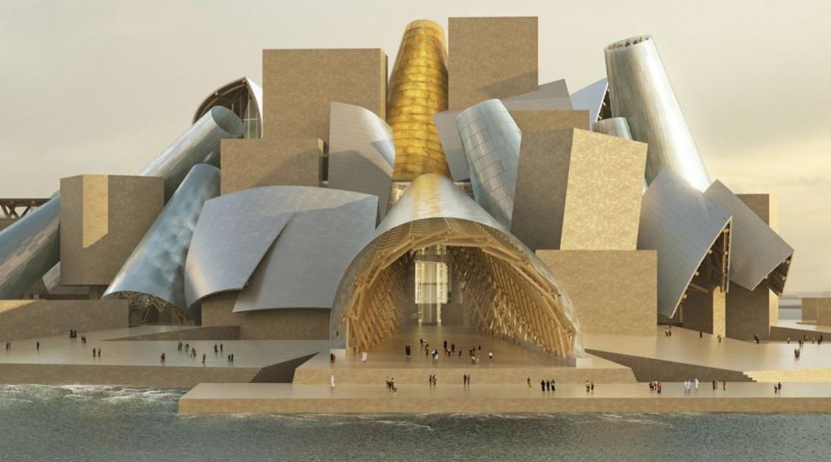Frank Gehry-designed Guggenheim Abu Dhabi on track for 2022 completion