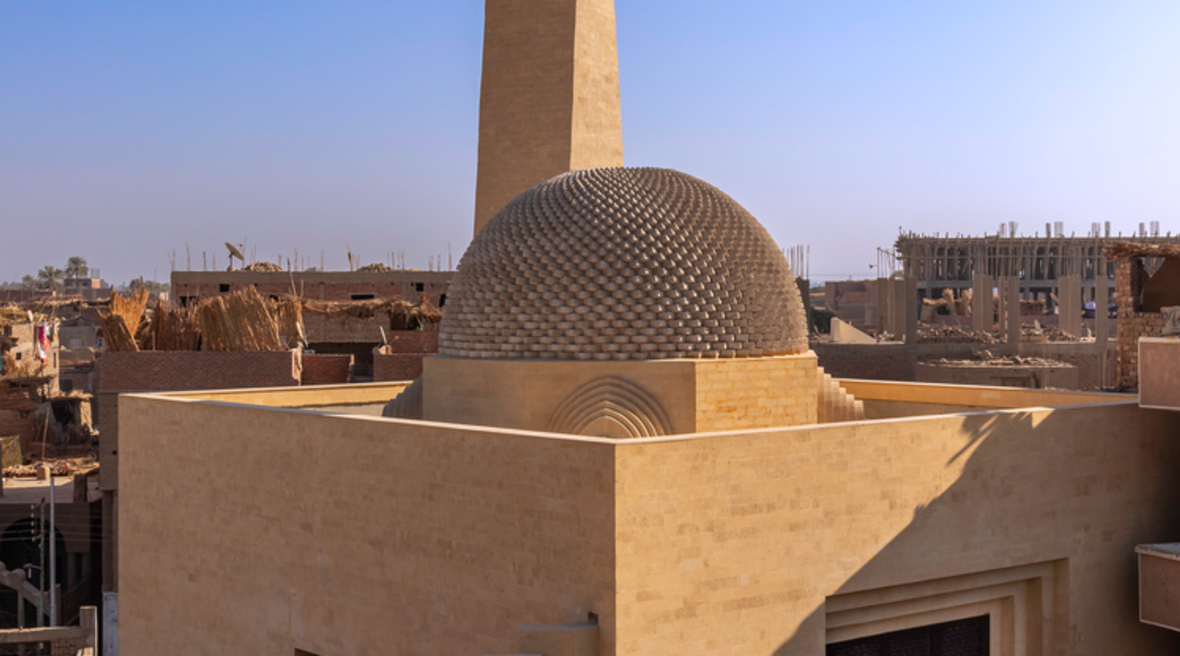 New mosque in Egypt by Dar Arafa designed to serve Muslims and non-Muslims