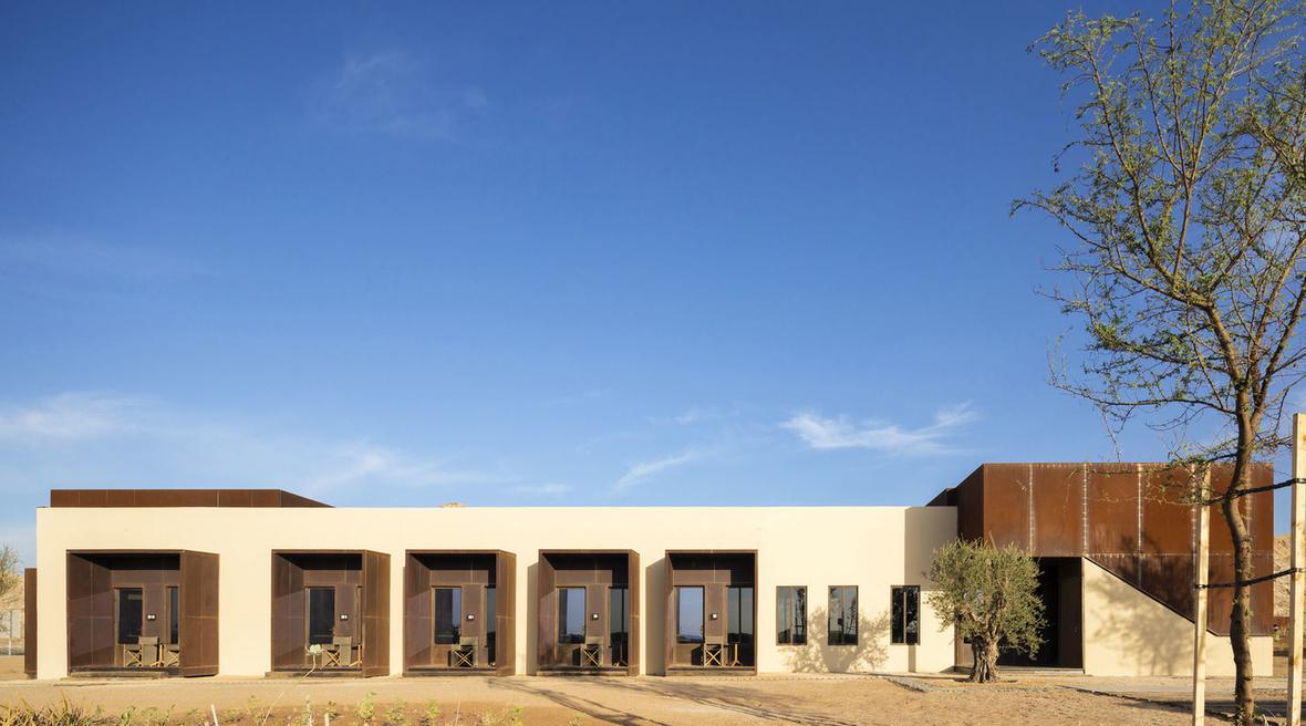 First look at Anarchitect's Sharjah desert retreat Al Faya Lodge