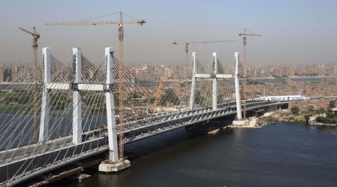 Rod El-Farag Axis Bridge in Egypt receives Guinness World Record title