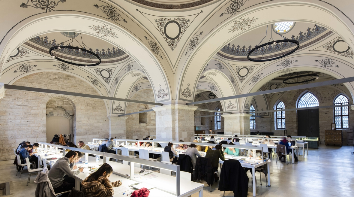 In photos: Aga Khan Award-nominated Beyazit Public Library, renovated by Tabanlioglu Architects