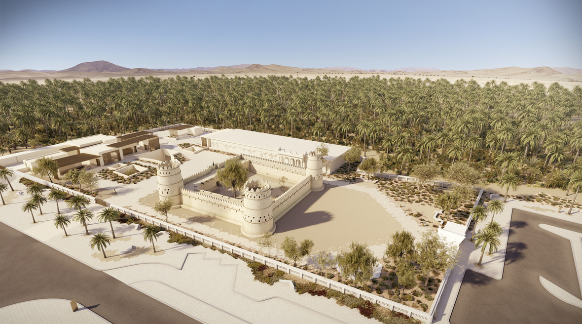 UAE-based practice Dabbagh Architects reveals design for Al Ain Museum of Archaeology