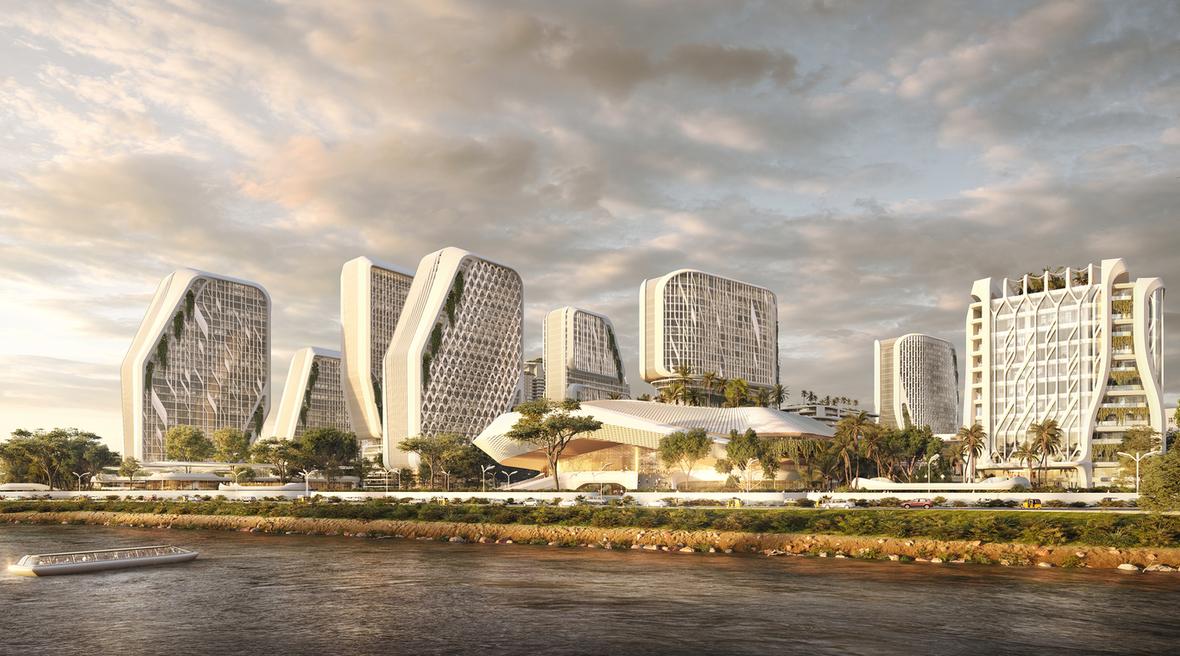 UNStudio designs sustainable masterplan for Bangalore