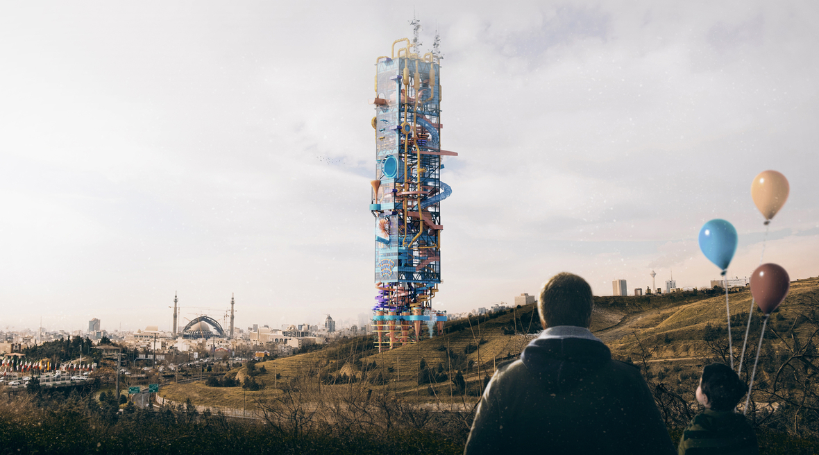 Tehran tower designed to combine cryptocurrency mining with a water park in response to US sanctions