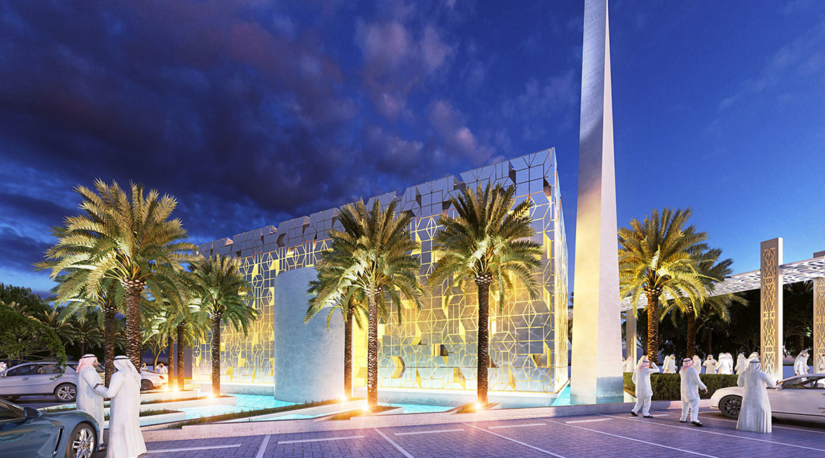 Archidentity reveals design concept for Dubai mosque