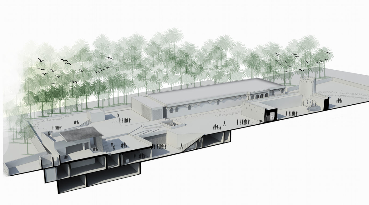 Dabbagh Architects releases plans and diagrams of Al Ain Museum for Archaeology