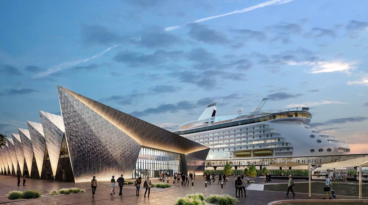 Meraas appoints ASGC to build Dubai Harbour as region's most advanced cruise terminal