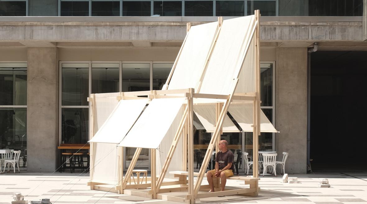 Turkish architects activate Izmir University's campus with pavilion