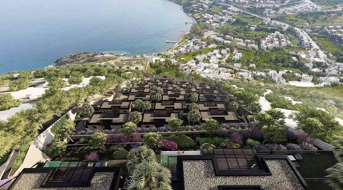 Turkish architects complete design for residential project in Bodrum