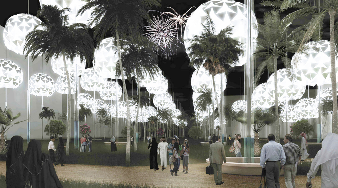 Solar powered orbs that generate renewable electricity wins Masdar design prize