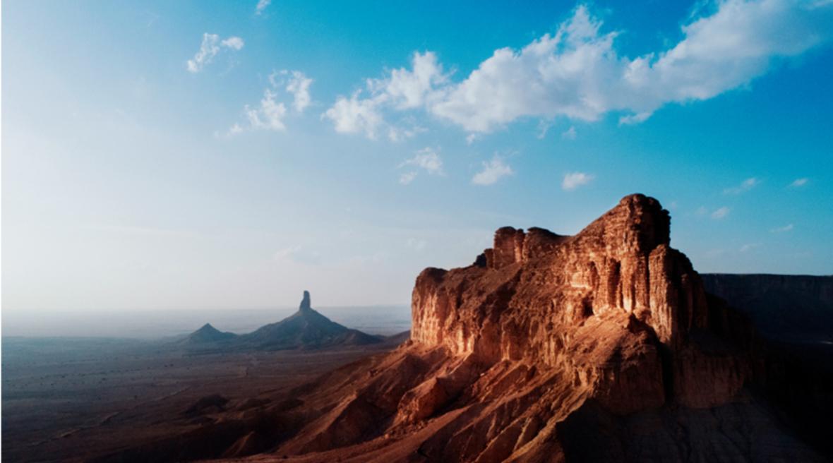 Pictures reveal Saudi Arabia's Qiddiya site