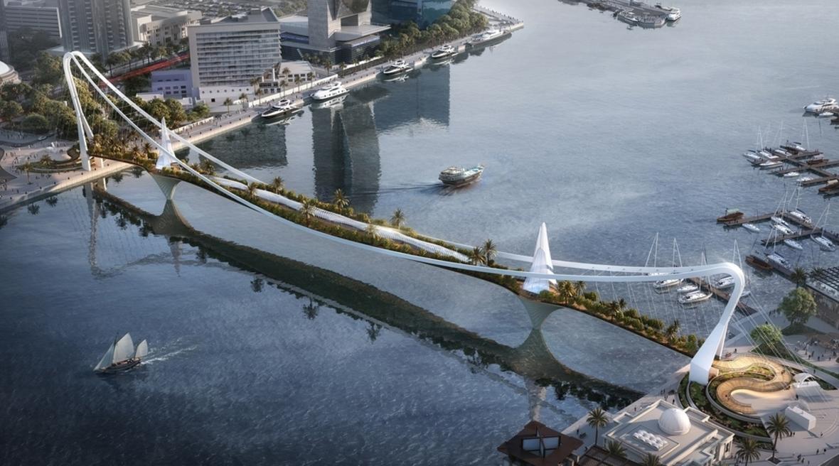 LWK+Partners reveals renders for Dubai's Sky Bridge Garden