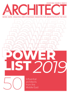 Architect Middle East - January 2019