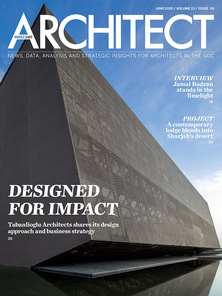 Architect Middle East - June 2019