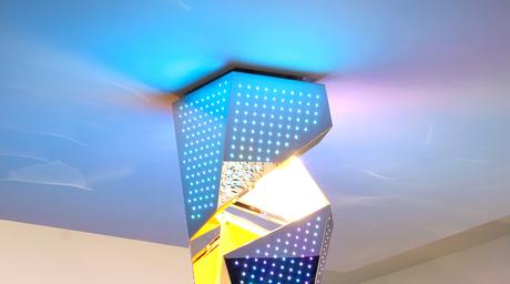 Architect Daniel Libeskind designs limited edition chandelier for Zumtobel