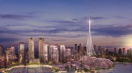 Design development of Calatrava's Dubai Creek Tower 100% complete