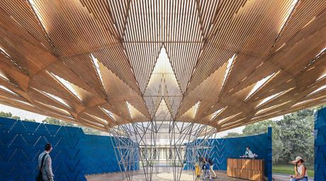 Diébédo Francis Kéré designs tree-shaped Serpentine Pavilion