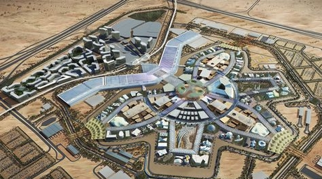 Construction of Dubai Expo theme districts will start end of March