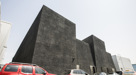 In pictures: Concrete is OMA's first built project in Dubai
