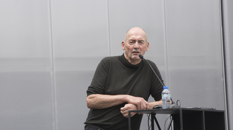 Overusing air conditioning and keeping people inside is not the solution for harsh weather says Koolhaas