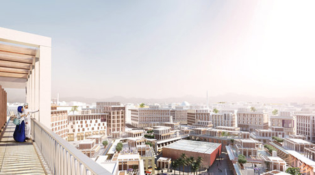 Allies and Morrison-designed Madinat Al Irfan city in Oman wins international architecture award