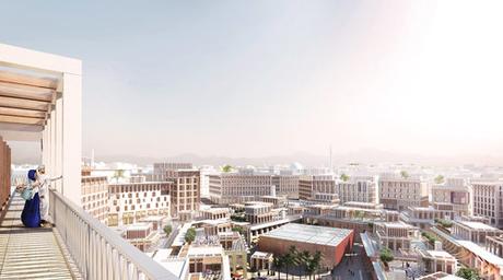 Allies and Morrison-designed Madinat Al Irfan city in Oman wins international architecture award