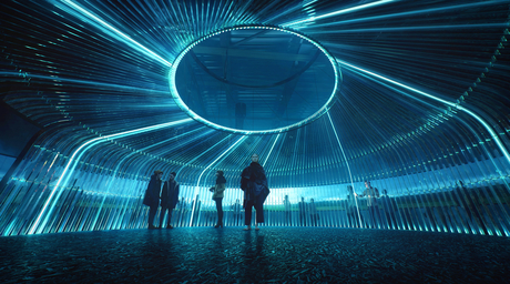 Asif Khan and Brian Eno unveil sound-led pavilion for Kazakhstan expo 2017