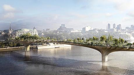 Heatherwick's London Garden Bridge should be scrapped says report
