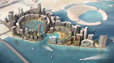 First phase of HOK-designed Bahrain Water Garden City nears completion