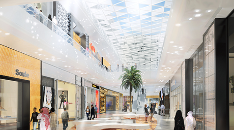 In pictures: Design International's futuristic Silicon Oasis mall in Dubai